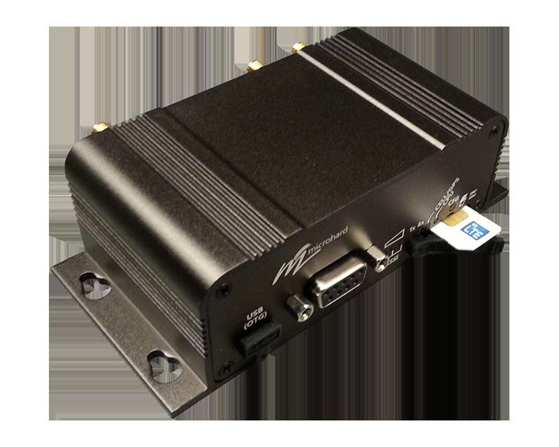 Microhard Modem SIM Insert Orientation