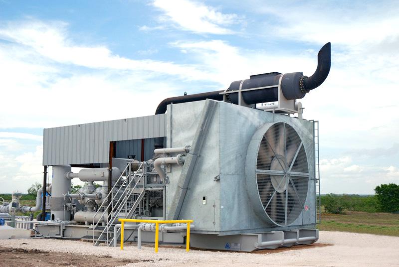 Natural Gas Booster Compressor Callout Installation